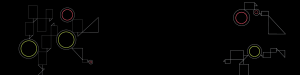 Black decorative background image