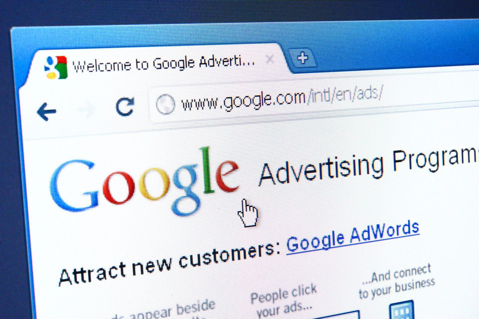 Google Adwords Management Banner